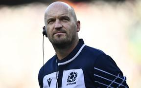 Scotland's head coach Gregor Townsend.
