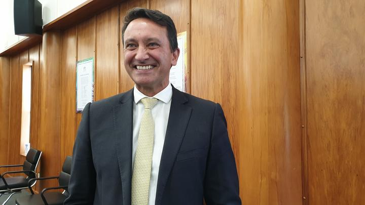 Mr MacLeod claimed one of the three South Taranaki seats on offer at the council.