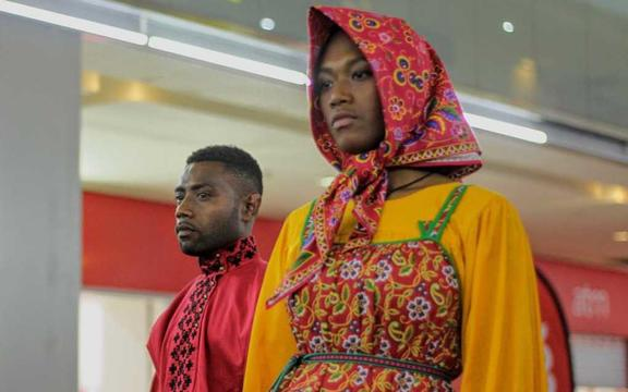 Russian costumes on show at PNG Fashion Week 2019