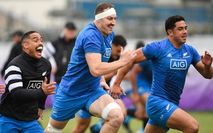 New Zealand advances to Rugby World Cup semis
