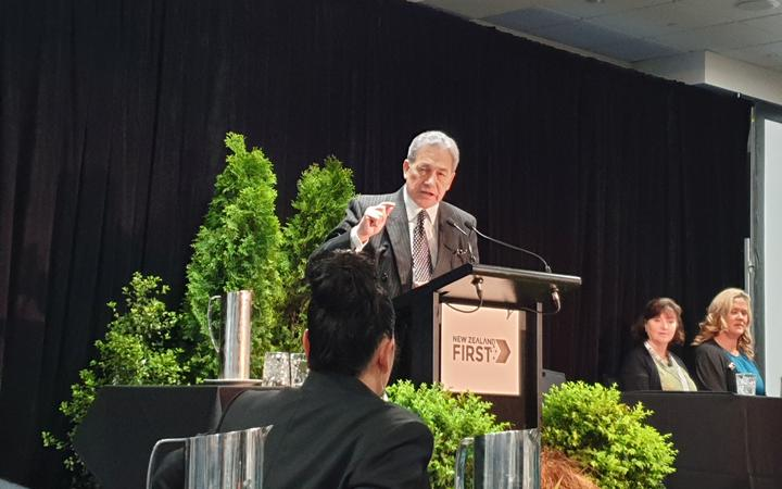 Winston Peters opens New Zealand First conference in Christchurch