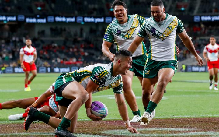 Sport: Cook Islands tame Tongans at World Cup Nines