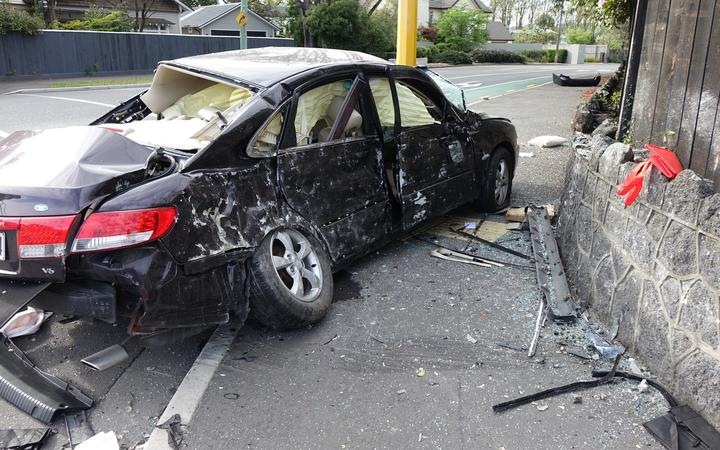 Christchurch crash