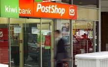 Kiwibank and post shop.