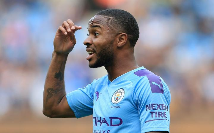 Raheem Sterling of Manchester City.