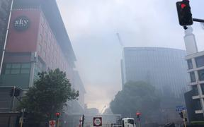 From SkyCity Convention Centre fire
