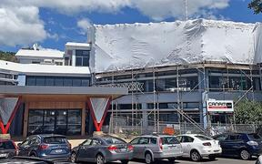 CLEAN GREEN: Construction work on the Bay of Plenty Regional Council's Whakatane offices will make the building a leader in environmental design.