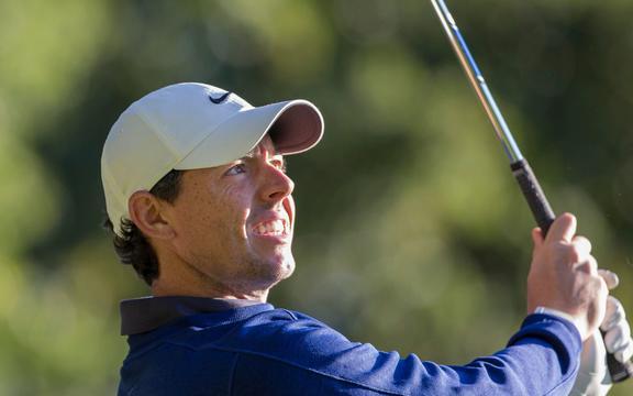 Irish golfer Rory McIlroy