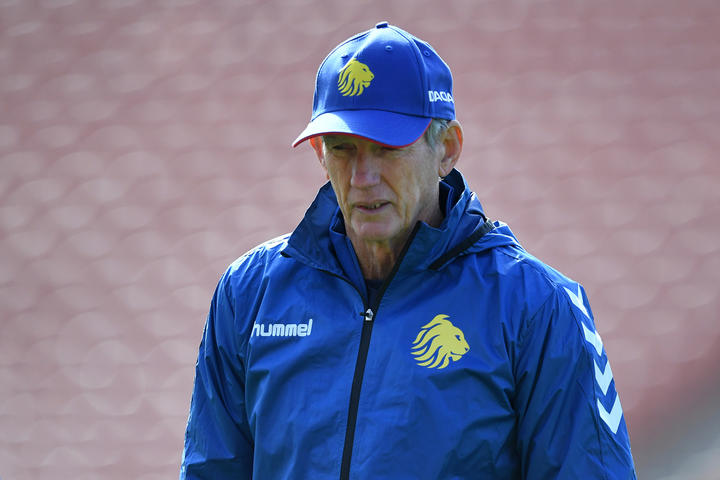 Great Britain rugby league coach Wayne Bennett.