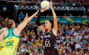 Maria Folau shoots during the Constellation Cup.