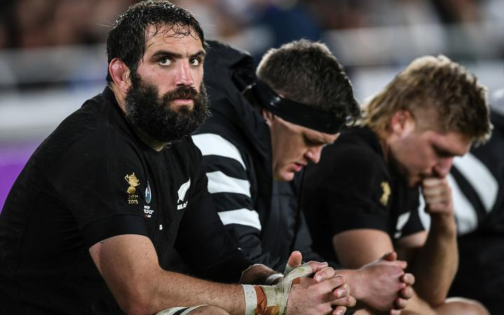 Sam Whitelock, Scott Barrett and Jack Goodhue on the bench as the All Blacks lose to England.