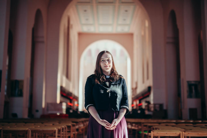 The Anglican Church's Eleanor Sanderson says climate change is very much a spiritual issue.