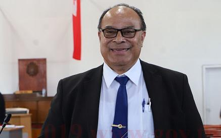 Prime Minister of Tonga, Pohiva Tu'i'onetoa.