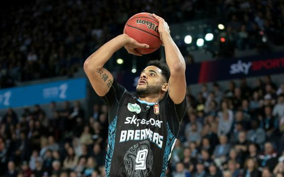 NZ Breakers Corey Webster