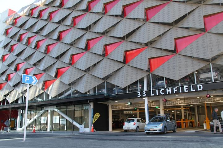 The Christchurch City council says public car parks in the central city are provided through buildings such as the Lichfield Street car parking building.