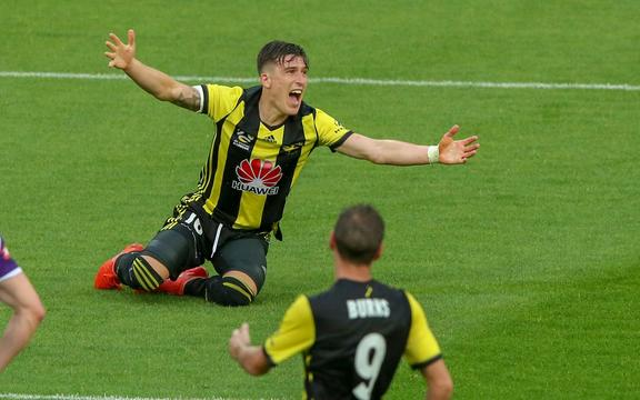 Wellington Phoenix's Louis Fenton.