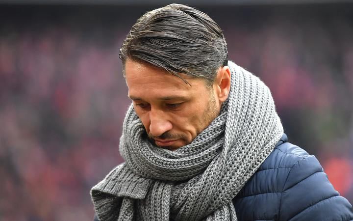 FC Bayern Munich separates by mutual agreement from Niko KOVAC. Archiv photo: Niko KOVAC (coach FC Bayern Munich) look down below, disappointment, frustrated, disappointed, dejected.