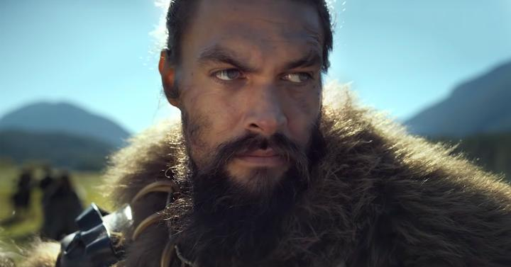Jason Momoa as clan leader baba Voss in Steven Knight's new TV series, See, for Apple TV+