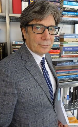 AUT vice-chancellor, Derek McCormack