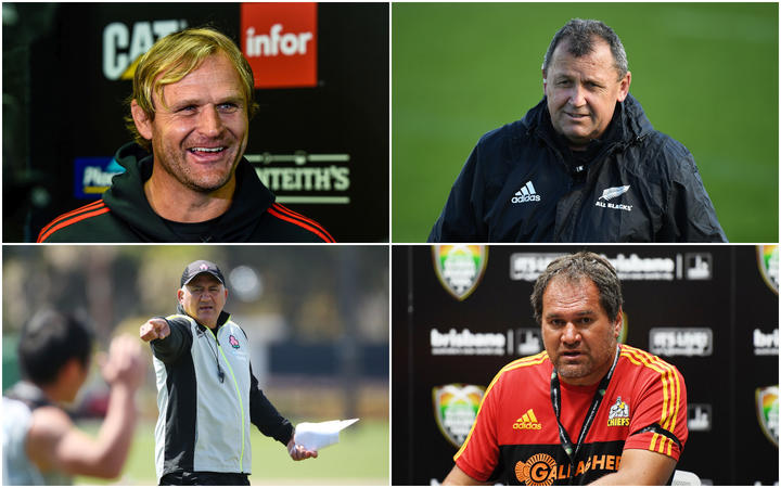 Joseph among 26 invited to apply for All Blacks coach role