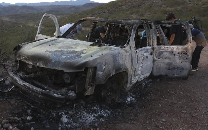 Gunmen who killed 9 Americans may be Juárez drug cartel members