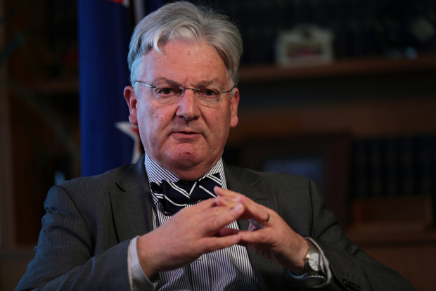 Peter Dunne, leader of the United Future political party.