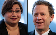 Metiria Turei and Russel Norman, co-leaders of the Green party.