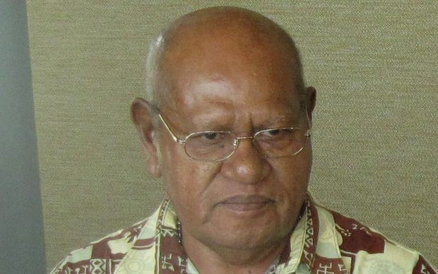 President of the autonomous Bougainville government, John Momis.