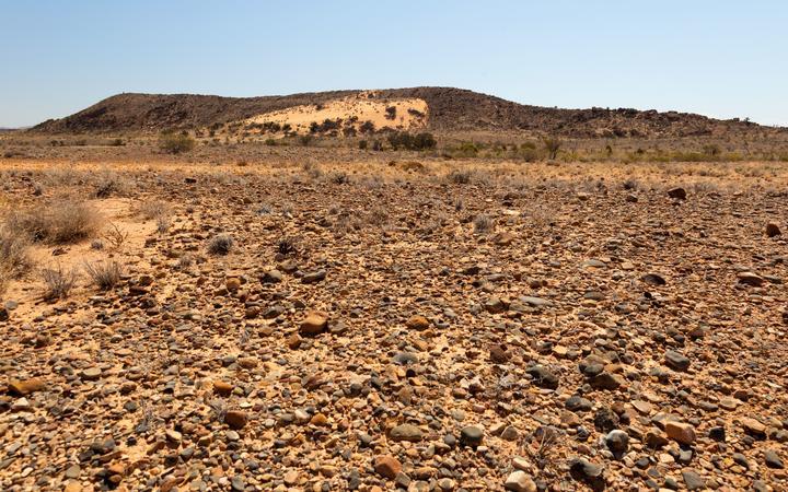 20322486 - flinders ranges landscape. south australia.