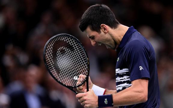 Joy of Novak Djokovic