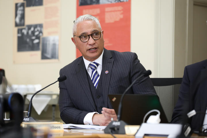 National MP Alfred Ngaro in committee