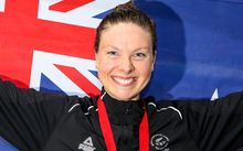New Zealand's Lauren Boyle wins Gold in the Women's 400m Freestyle Final, Glasgow Commonwealth Games, 2014.