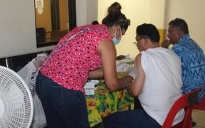 MMR vaccinations underway in American Samoa.
