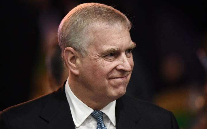 Britain's Prince Andrew, Duke of York leaves after speaking at the ASEAN Business and Investment Summit in Bangkok on November 3, 2019, on the sidelines of the 35th Association of Southeast Asian Nations (ASEAN) Summit.
