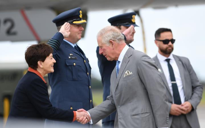 Prince Charles and Camilla begin weeklong New Zealand trip