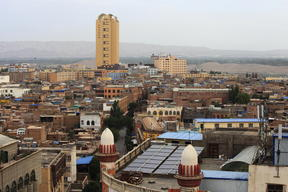 Kashgar, a city in China's northwest Xinjiang region.