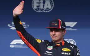 Max Verstappen (NED) Red Bull Racing.