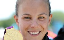 New Zealand kayaker Lisa Carrington