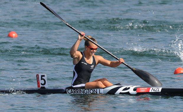 Lisa Carrington wins Olympic gold