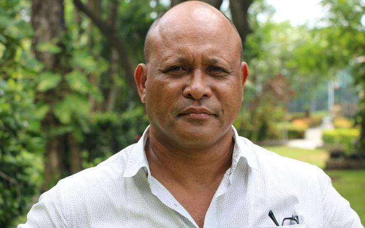 Sione Paasia, an aviation consultant who hails from Takuu atoll.
