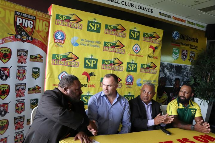 Sport: PNG Hunters appoint new coach
