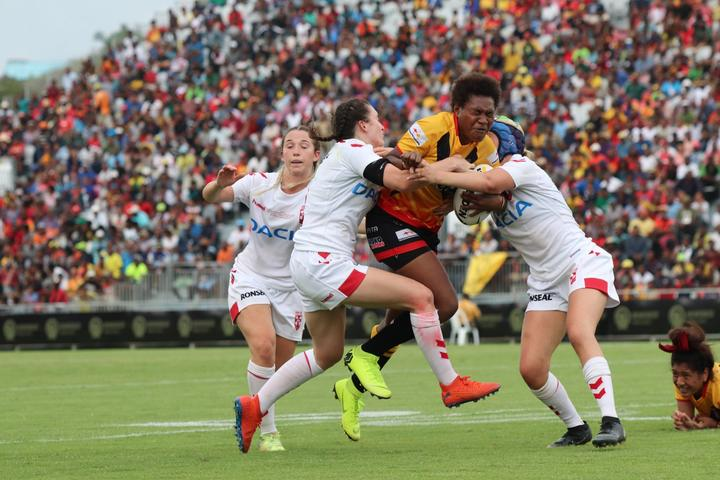 PNG defeated England 20-16 in Port Moresby.