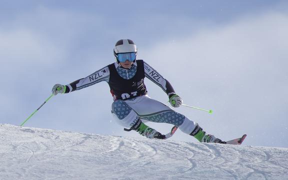 New Zealand skier Alice Robinson.
