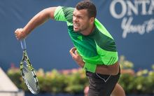 French tennis player Jo Wilfried Tsonga