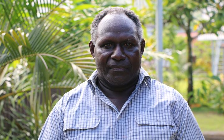 The former leader of the Bougainville Revolutionary Army, Sam Kauona.