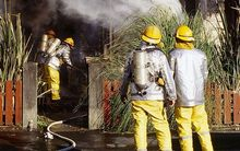 Fire investigators are questioning why smoke alarms were removed from an Otara property.