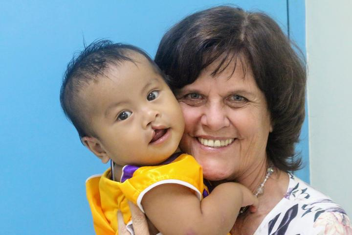 New Zealander Pauline Curtis-Smith is the CEO of the Ruel Foundation in the Philippines.