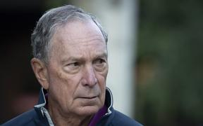 SUN VALLEY, ID - JULY 12: Former New York City mayor Michael Bloomberg attends the annual Allen & Company Sun Valley Conference, July 12, 2019 in Sun Valley, Idaho.