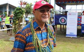 PNG's Minister for Bougainville Affairs, Sir Puka Temu.