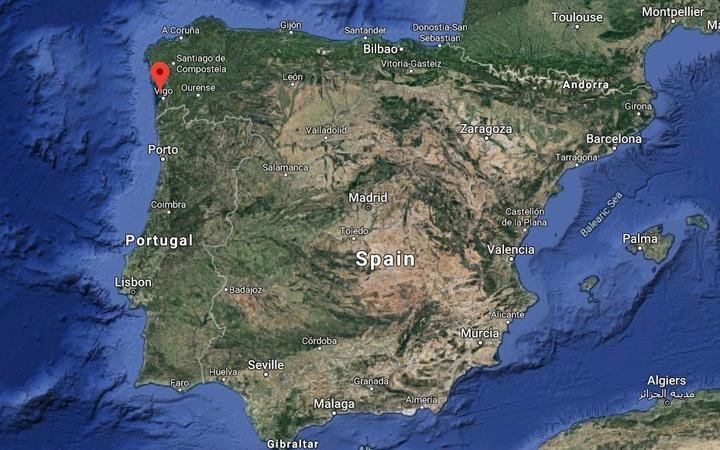 Spanish police seize 'drugs submarine' off coast of Galicia